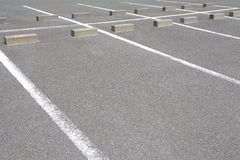 Parking Lot Stock Image