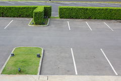 Parking lot Royalty Free Stock Photo