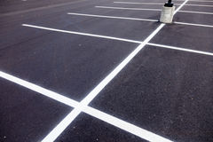 Parking Lot Painted Lines Stock Photos