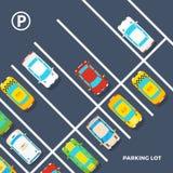 Parking Lot Poster Stock Photos