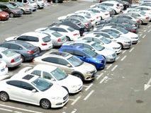 Parking lot Royalty Free Stock Photos