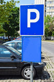 Parking lot sign Royalty Free Stock Photo