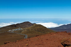 Visitors center Haleakala Royalty Free Stock Photography