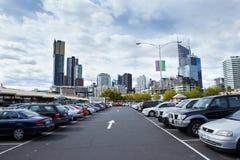 Parking lots Royalty Free Stock Image