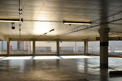 Parking lots, architecture construction Royalty Free Stock Photography