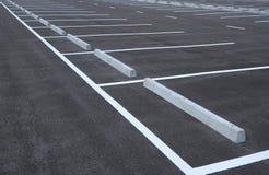 Parking lots Royalty Free Stock Photos