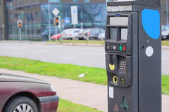 Parking machine Royalty Free Stock Image