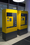 Parking machine in mall Royalty Free Stock Photos