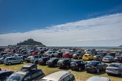 Parking in Marazion Royalty Free Stock Photo