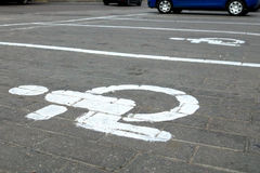 Parking marking Royalty Free Stock Images