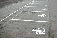 Parking marking Royalty Free Stock Image