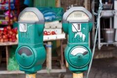 Parking maszyny w Malaysia Obrazy Royalty Free