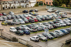 Parking Stock Photography