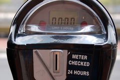 Parking meter. New parking meter Stock Photography