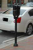 Parking meter. Photographed parking meter at Atlanta Georgia Stock Image