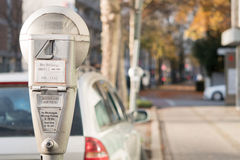 Parking meter Royalty Free Stock Images