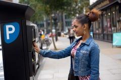 Parking meter Royalty Free Stock Images