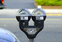Parking Meters Royalty Free Stock Images