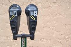 Parking Meters Royalty Free Stock Image
