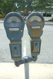 Parking Meters Royalty Free Stock Photography