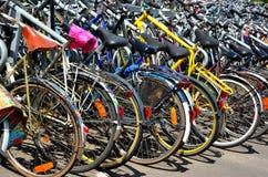 Parking miejsce dla bicykli/lów, Gent Fotografia Royalty Free