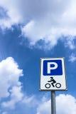 Parking motocykle Fotografia Royalty Free