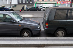Parking in paris Stock Photography