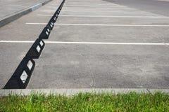 Parking Parking extérieur vide de parking de l'espace Photo libre de droits