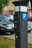 Parking in the parking lot Royalty Free Stock Photography