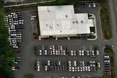 parking partii zdjęcie royalty free