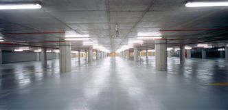 parking partii pod ziemią obrazy royalty free