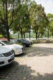 Parking Stock Image