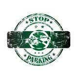parking pieczątki przerwa Obrazy Stock