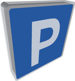 Parking place Stock Photography