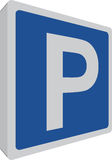 Parking place Royalty Free Stock Photos