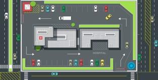 Parking place stock illustration