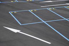Parking places Stock Photography