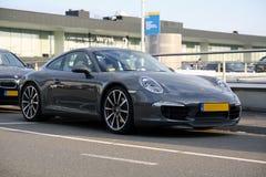 Parking Porsche Carrera Royalty Free Stock Photos