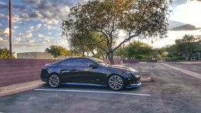 Parking problem? Nie dla ten ATS-V coupe! zdjęcia royalty free