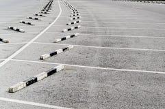 Parking pusty Obrazy Royalty Free