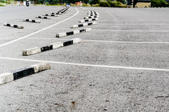 Parking pusty Zdjęcie Stock