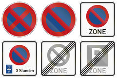 Parking Restrictions In Germany Stock Photos