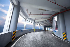 Parking road Stock Photography