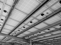Parking roof Stock Photography