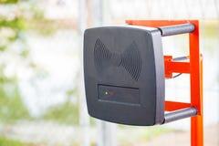 Parking samochodowego automatyczny hasłowy system System bezpieczeństwa dla budować dostęp - bariery bramy przerwa z opłaty drogo obrazy stock