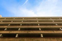 Parking samochodowego budynek Zdjęcia Royalty Free