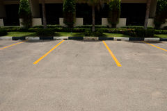parking samochodowy Obraz Stock