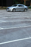 parking samochodowy Zdjęcia Stock