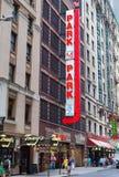 Parking Samochodowy w Miasto Nowy Jork Fotografia Royalty Free