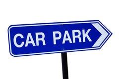 Parking samochodowy znak Fotografia Stock